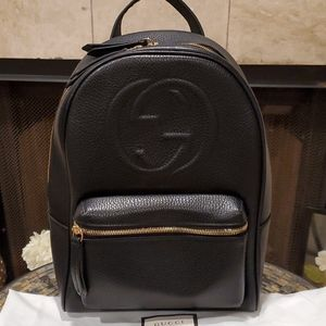 💯% Auth Gucci Soho Chain Backpack